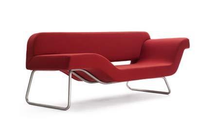 Chaiselongue Nouvellevague single piece