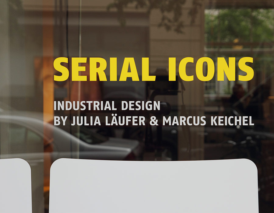 modus schriftzug serial icons fenster window