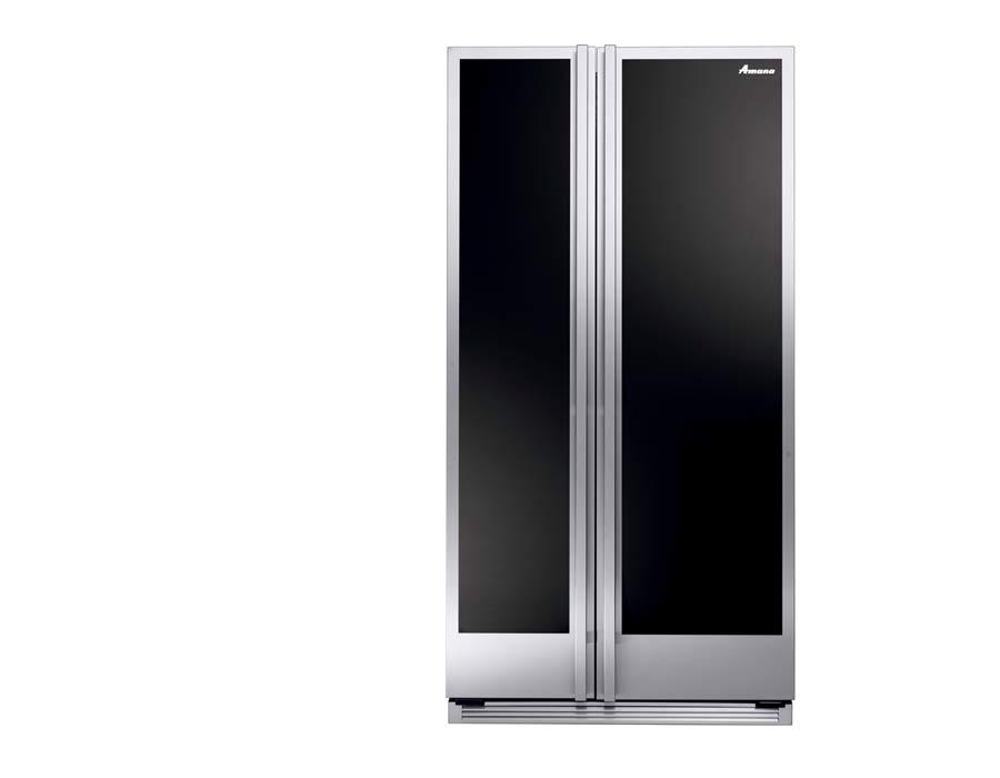 Amana refrigeration front